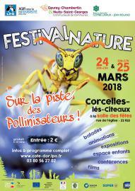 Affiche Festival nature sur la piste des pollinisateurs