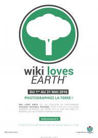 Affiche Wikilovesearth 2016