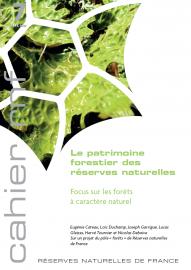 """Couverture Cahier """"le patrimoine forestier des réserves naturelles """""""