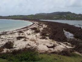 Galion : la plage et l'étang - Après
