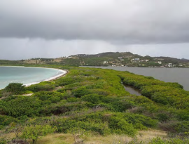 Galion : la plage et l'étang - Avant