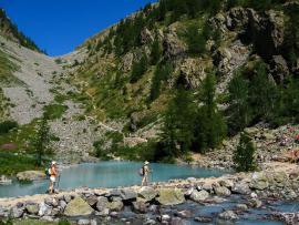Lac de le Douche GR54 © C.Coursier