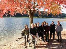 Réunion du groupe développement durable à Remoray en octobre 2012 - © P.M. Aubertel