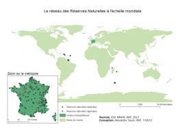 L'outre mer dans le monde - Sources IGN, MNHN, RNF, 2012 - Conception A.Touzé RNF 2012