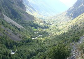 Vallée de la Severaisse, vue vers l'aval - © Fr Latreille / Wikipedia