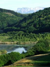 Vue de la réserve - © G. Maillet / CEN Isère