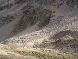 Le glacier rocheux de Laurichard - © Xbodin / Wikipedia