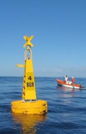 Balisage de la réserve naturelle - © RN Marine de la Réunion