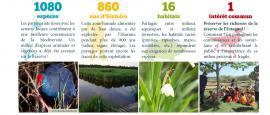La réserve en quelques chiffres - © RNN Estagnol