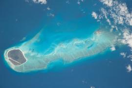 L'archipel vu de l'ISS - © NASA
