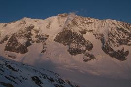 Le glacier de Tré-la-Tête en hiver - © G. Garcel