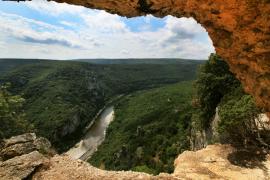 Les gorges de l'Ardèche - © R. Meigneux / Coeurs de nature / SIPA