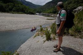 Surveillance dans les gorges - © R. Meigneux / Coeurs de nature / SIPA
