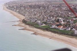 Vue aérienne du site - © P. Giommi