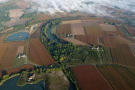 Vue aérienne du site - © SEPANLOG
