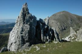 Aiguille de quartz et sommet de Costabonne - © P. Gaultier
