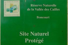 Panneau sur le site - © RN Vallée des Cailles