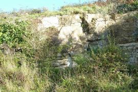 Carrière de calcaire à Rozan - © H. Moreau / Wikipedia