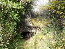 Entrée de la Grotte de Chenecey - © CPEPESC