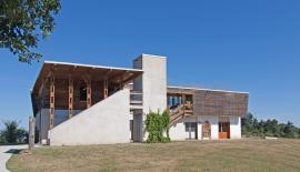 Maison de la réserve naturelle des gorges de la Loire©V.Michel-Frapna Loire